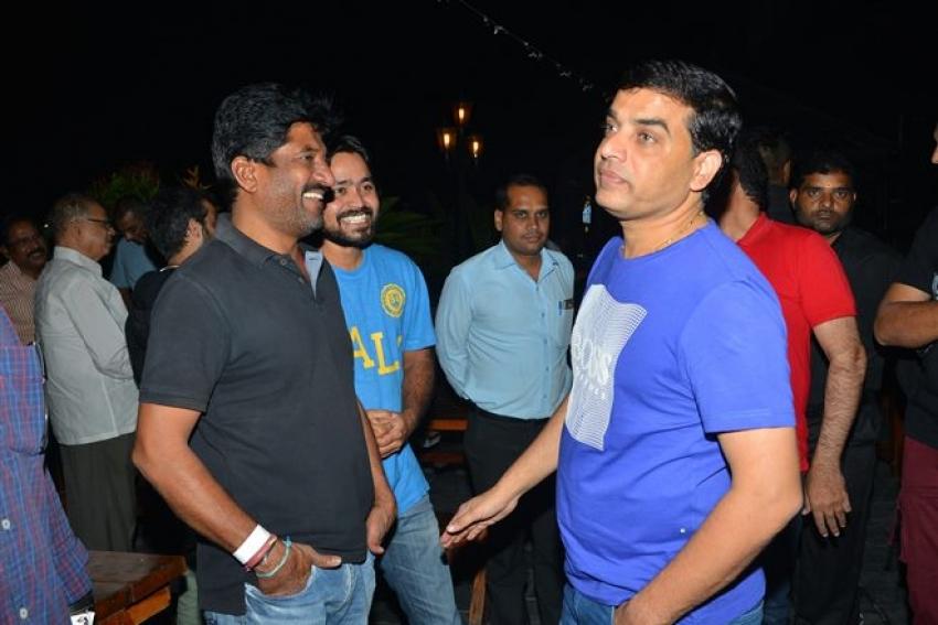 Raja The Great Success Party Photos