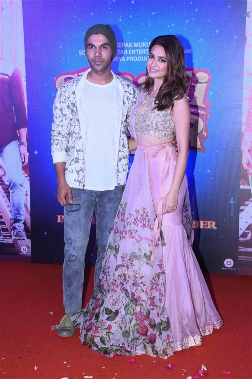 Shaadi Mein Zaroor Aana Trailer Launch Photos