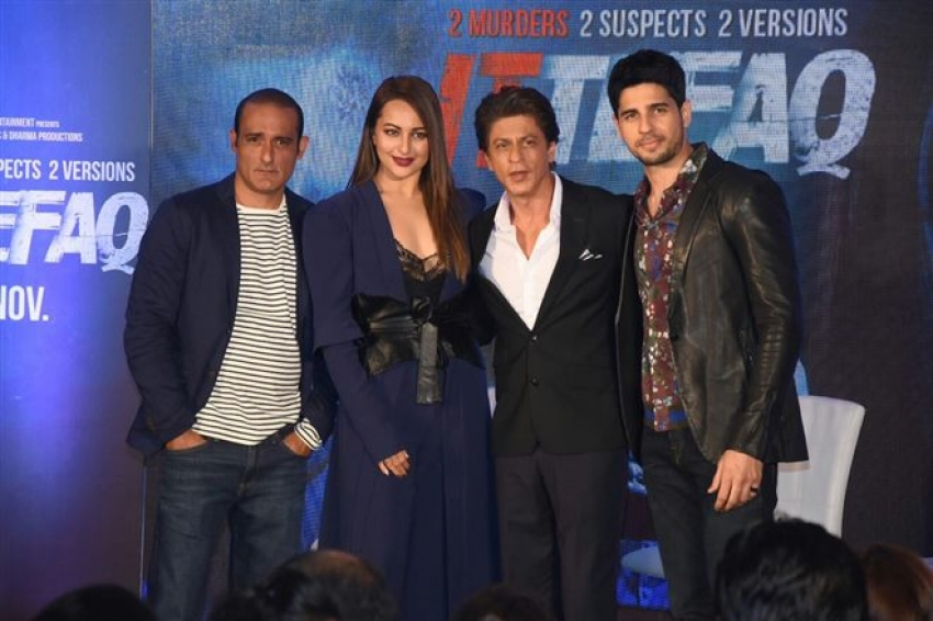 Shahrukh Khan In Conversation With Starcast Of Ittefaq Photos
