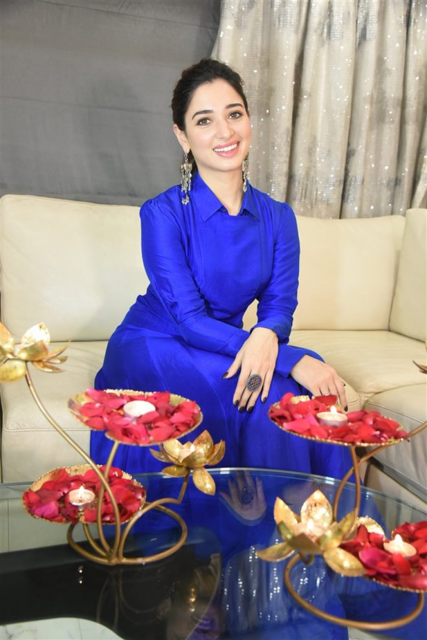 Tamannaah Diwali Celebration Photoshoot Photos