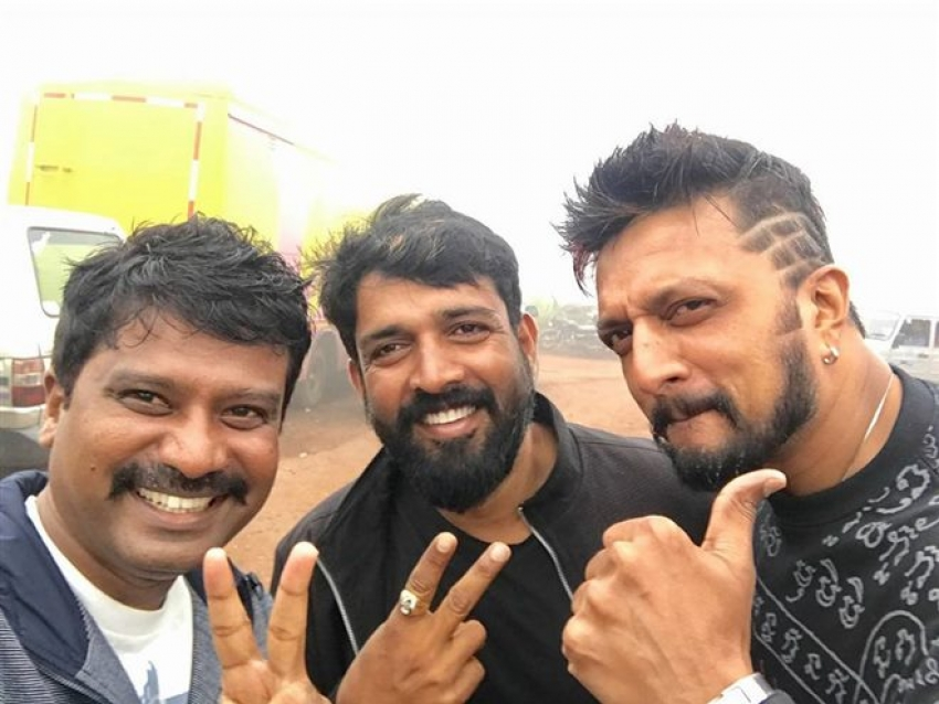 ... Kiccha Sudeep New Hairstyle Images The Galleries of HD Wallpaper