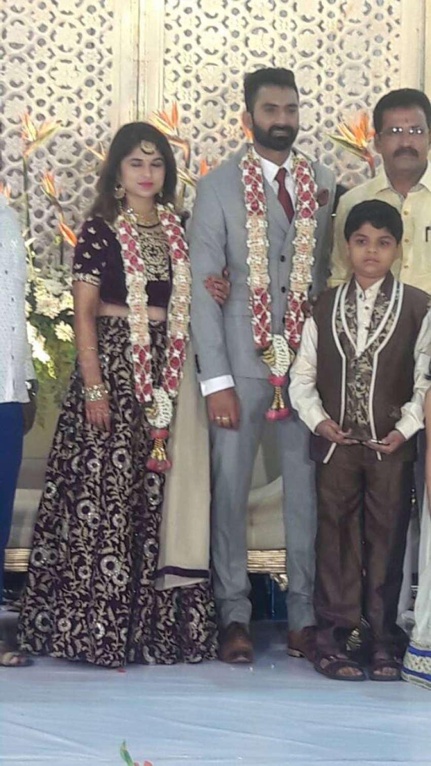 Yogesh & Sahithya Wedding Reception Photos