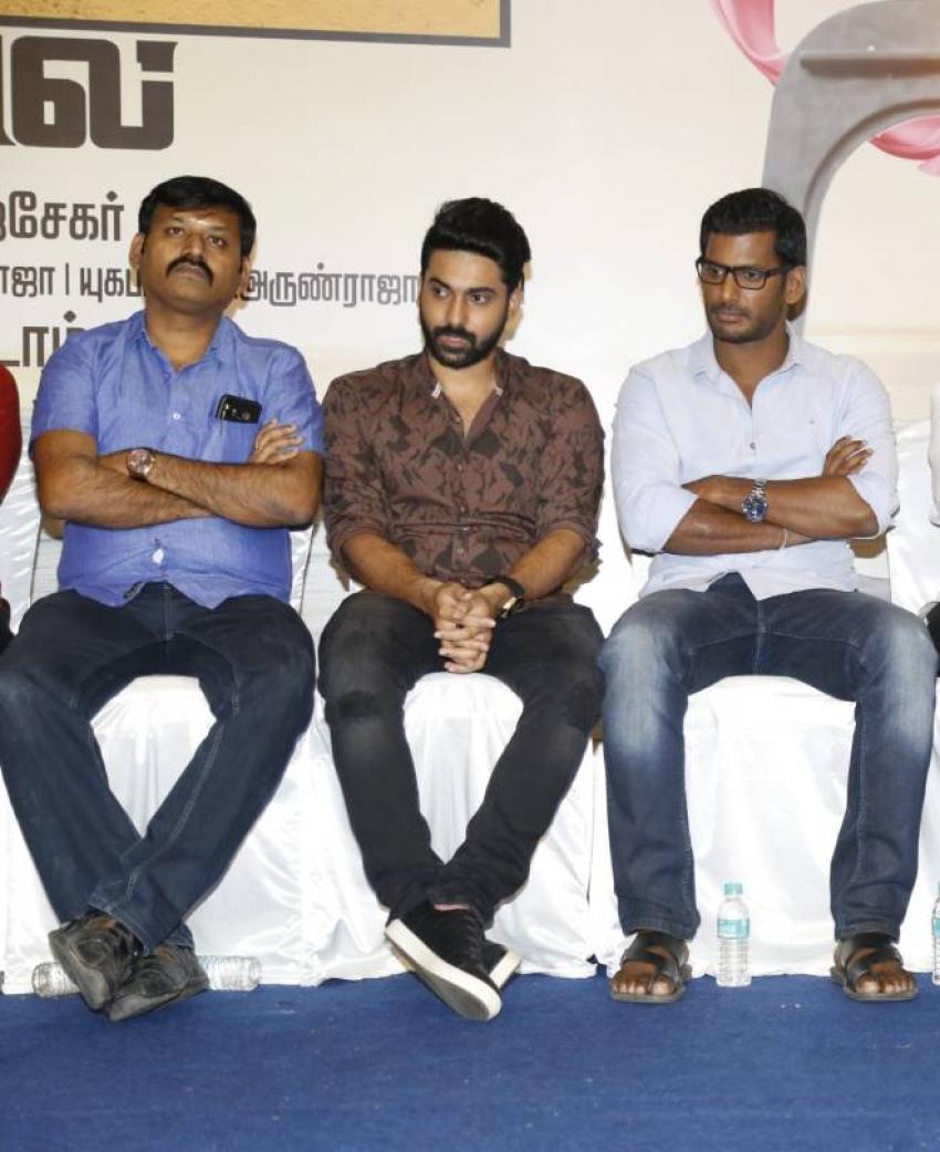 Kathiruppor Pattiyal Press Meet Photos