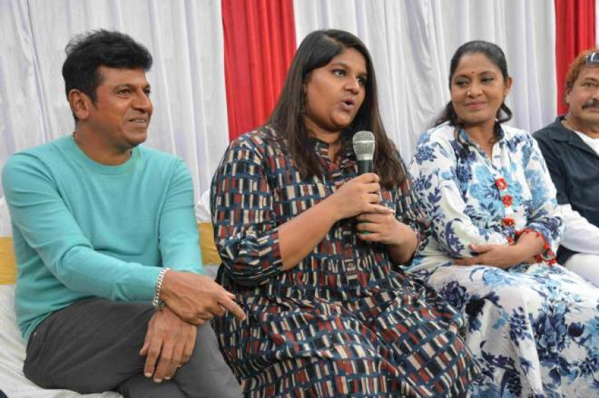 Shivrajkumar New Tv Production Press Meet Photos