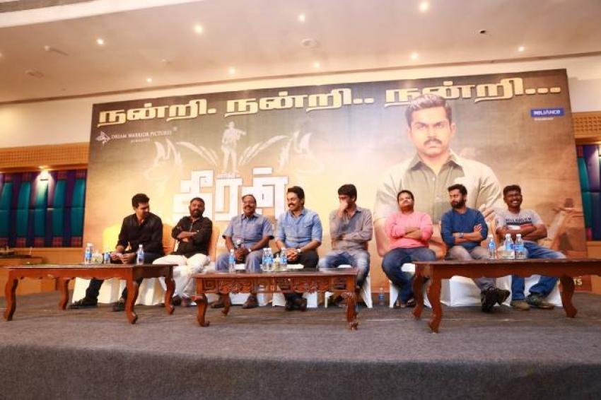 Theeran Adhigaram Ondru Grand Success Meet Photos