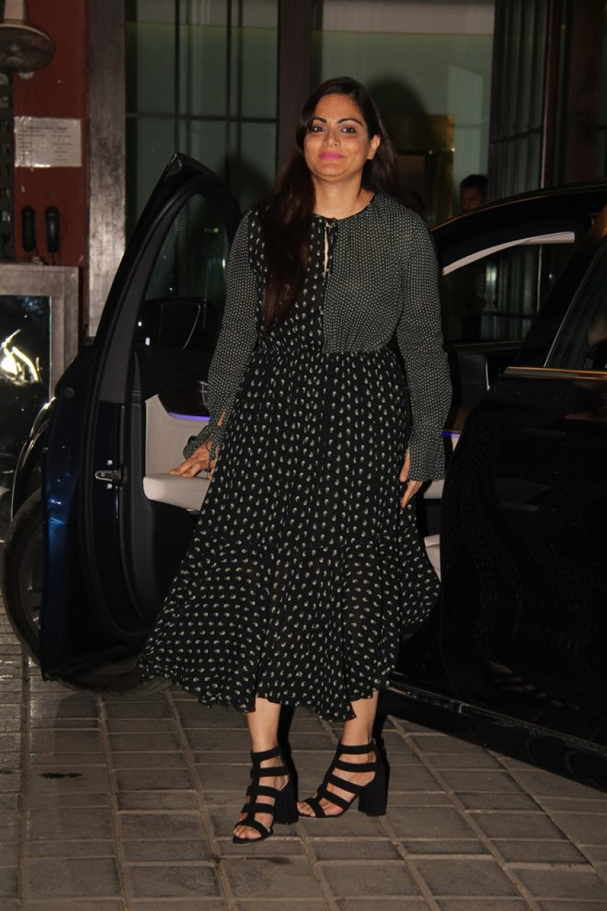 Arpita Khan Sharma Family Party At Her Residence Photos