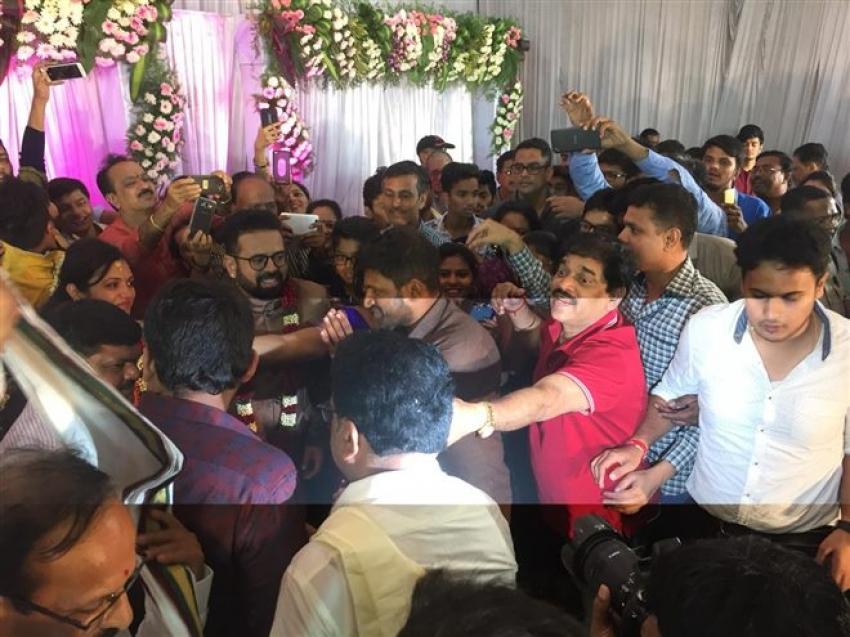 Director Santhosh Anandram Engagement Photos