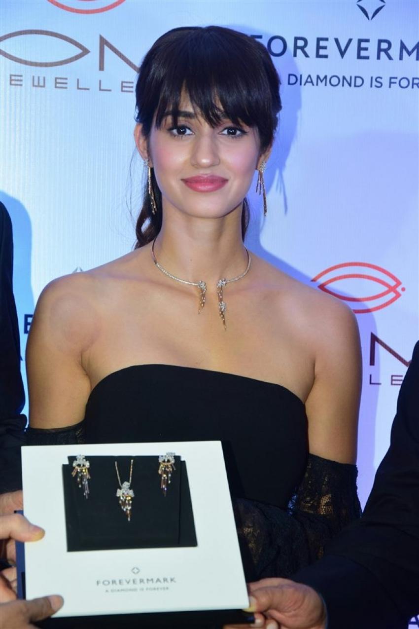 Disha Patani At Launch Om Jewelers Store Photos
