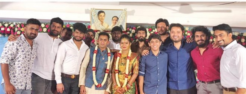 Dr Rajkumar Grandson Shan Engagement Photos