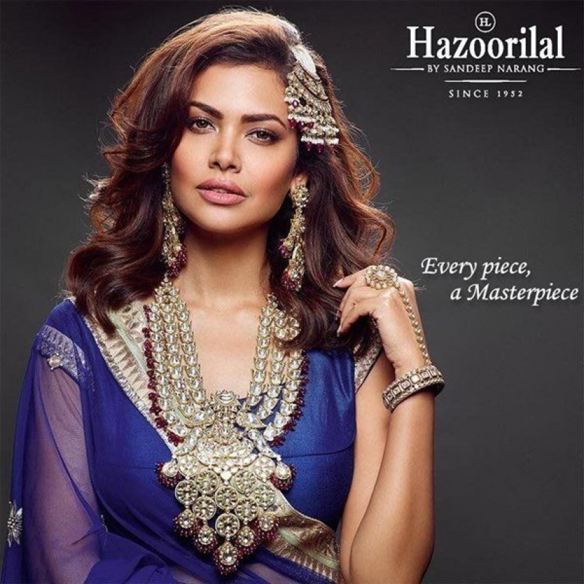 Esha Gupta Photoshoot For Hazoorilal Jewellers Photos