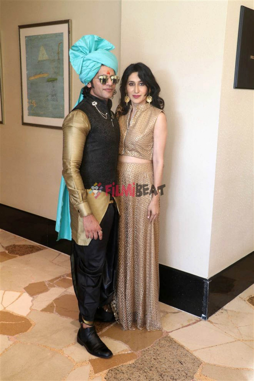 Gautam Gupta Wedding After Party At His Residence Photos