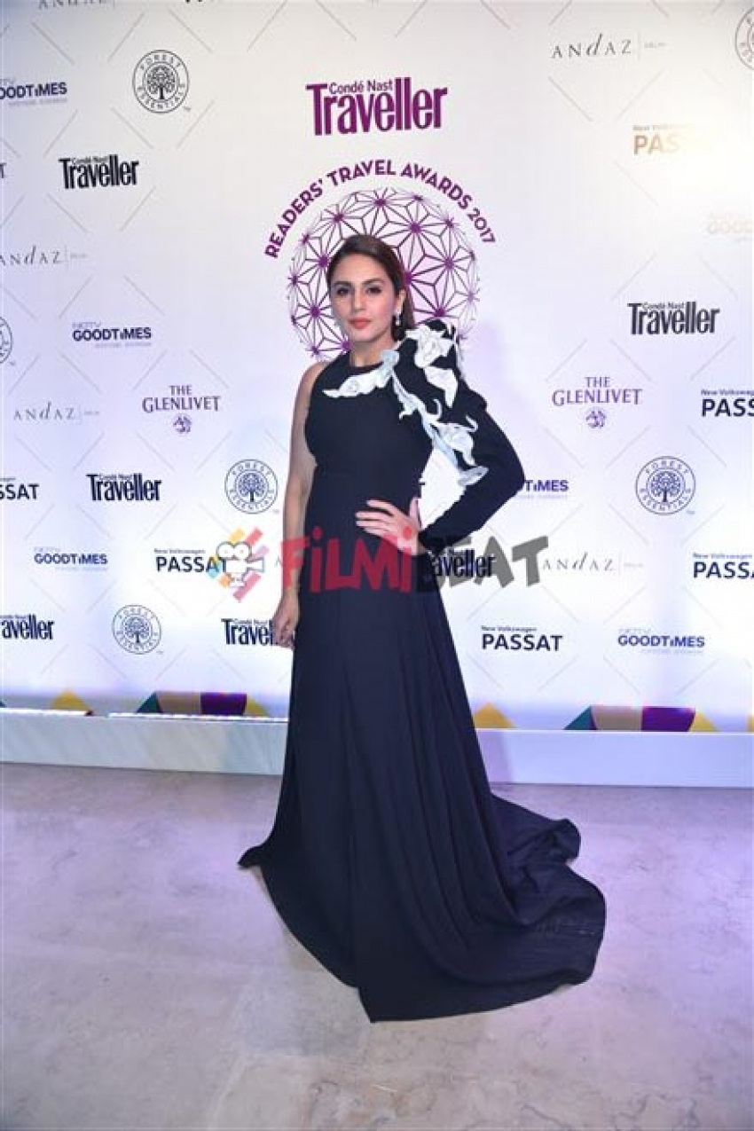 Huma Qureshi At Conde Nast Travellers Award In New Delhi Photos