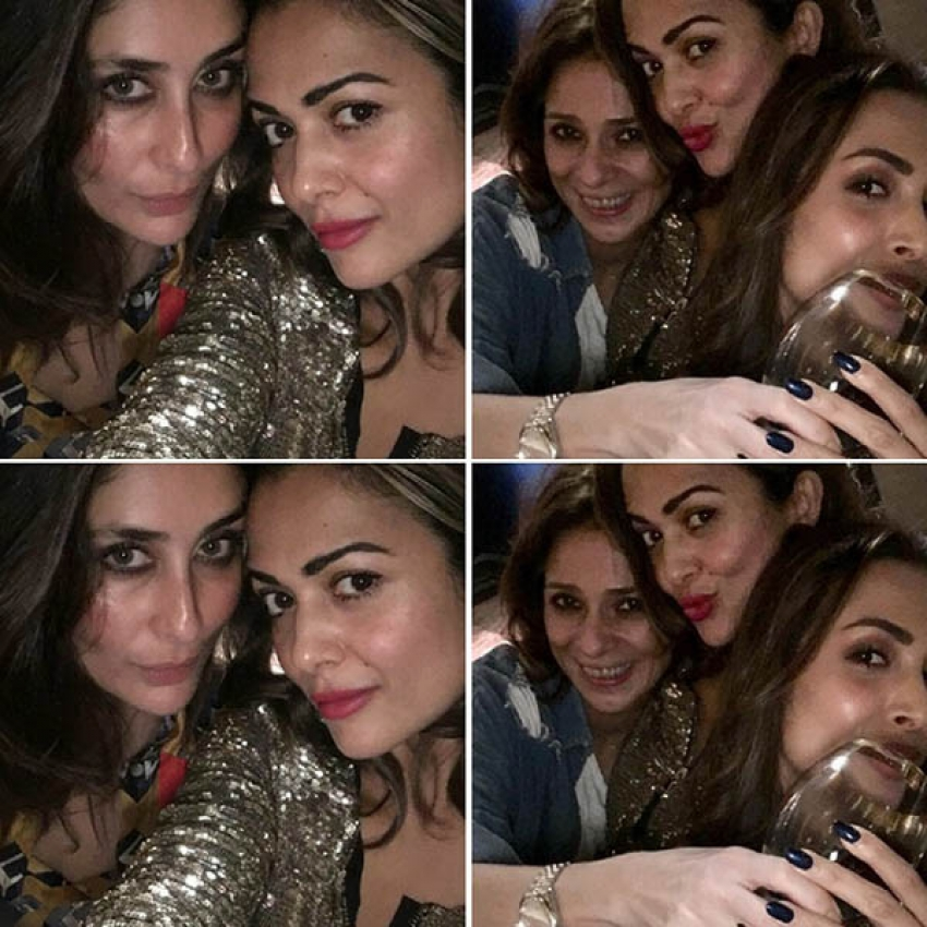 Inside Pictures Of Kareena Kapoor Khan Partying With Malaika Arora And Amrita Arora Photos