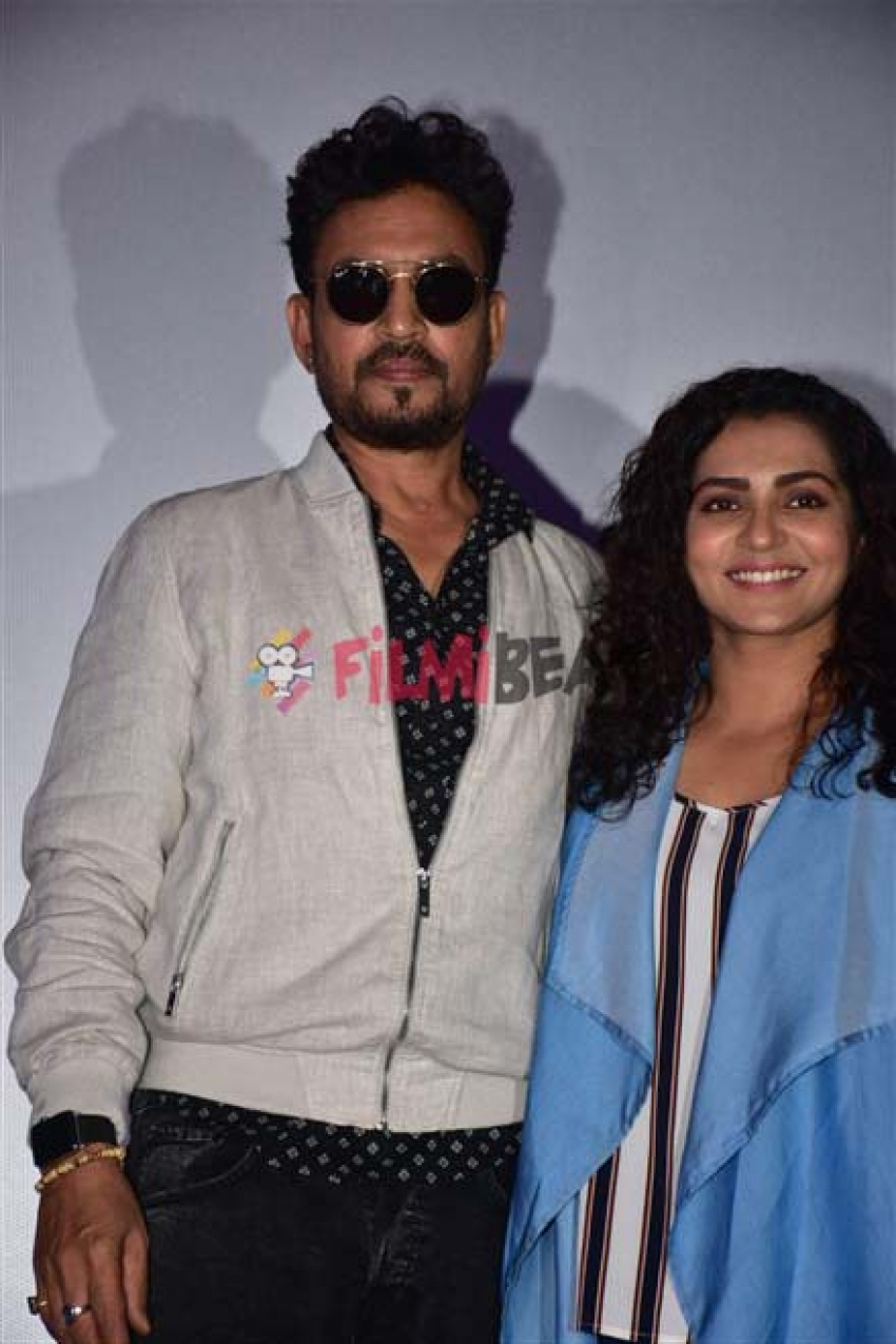 Irrfan Khan & Parvathy Visit Theater For Audience Live Reactions Photos