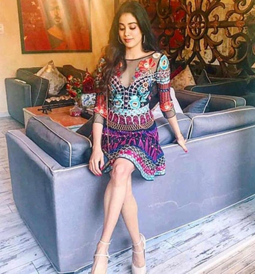 Jhanvi Kapoor Instagram Pictures You Should Not Miss Photos