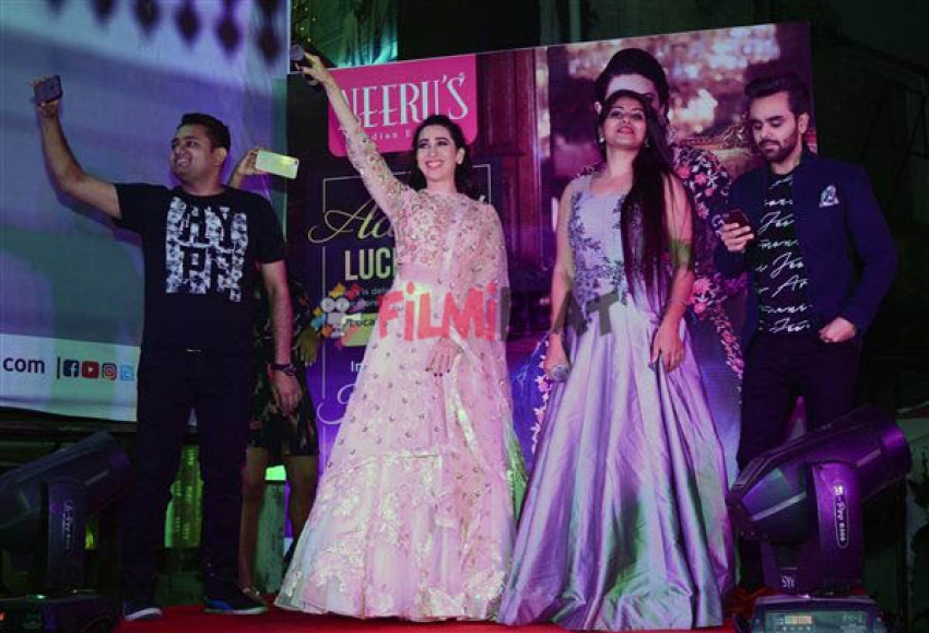 Karisma Kapoor At Neeru's Event In Lucknow Photos