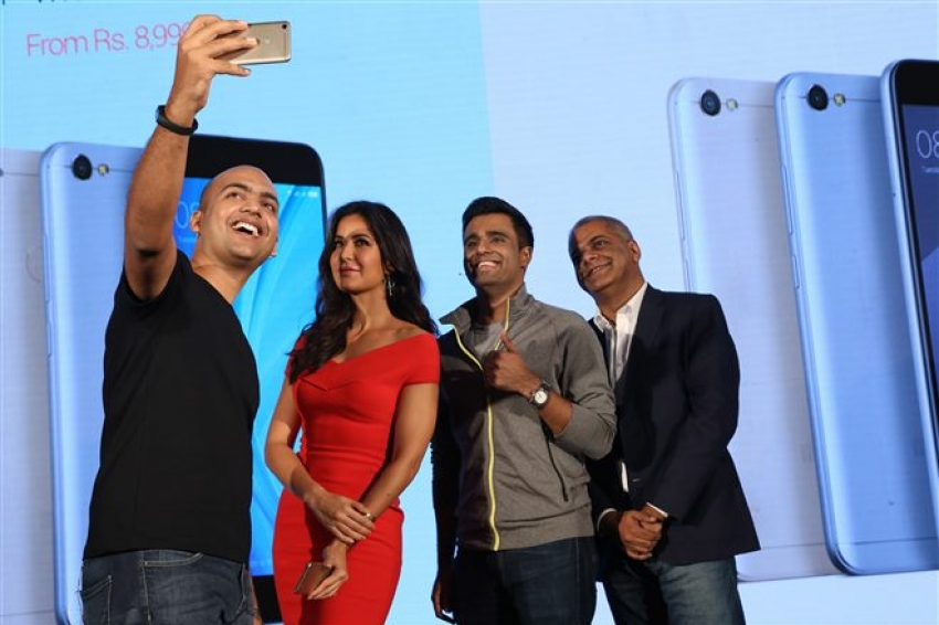 Katrina Kaif At Xiaomi Phone Launch In Delhi Photos