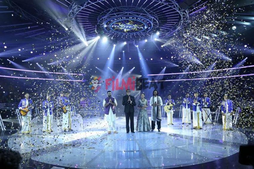 KBC 9 Finale Show With Vidya Balan & Yuvraj Singh Photos