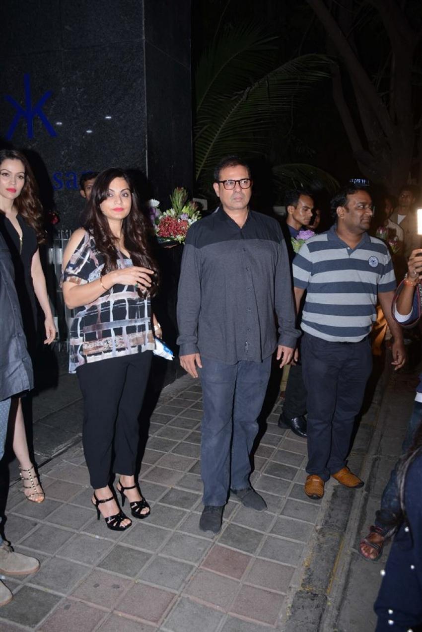 Khan Family Celebrates Helen's Birthday At Hakkasan Bandra Photos