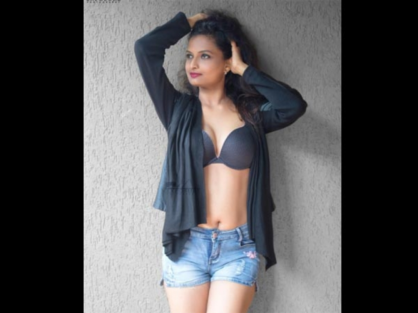 Mumbai Sneha Lingerie Model Hot Photoshoot Photos