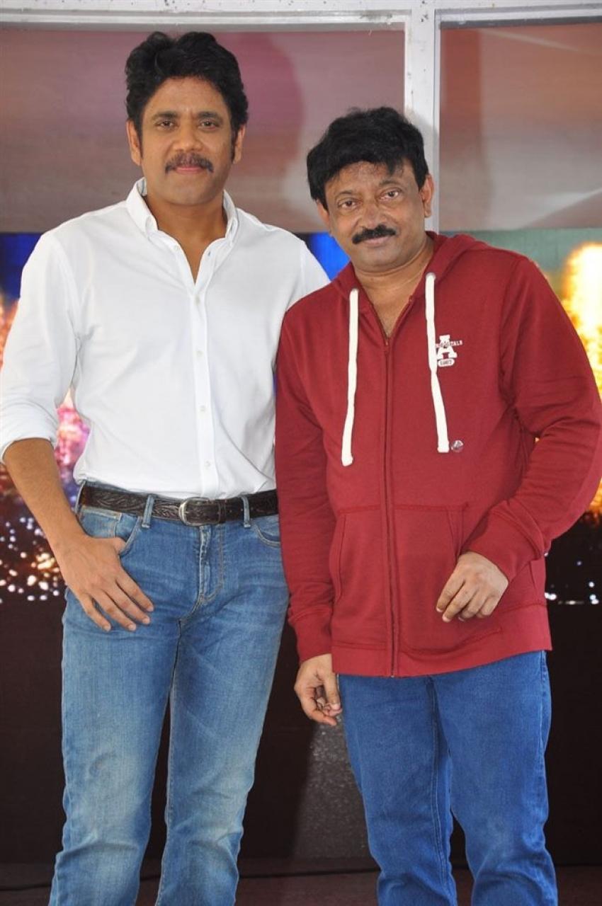 Nagarjuna & Ram Gopal Varma's  New Movie Opening Photos