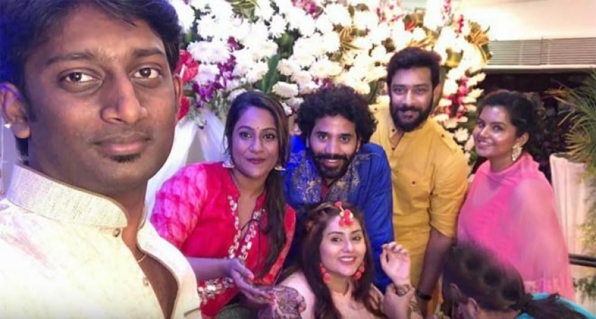 Namitha Wedding Mehandi Ceremony Photos