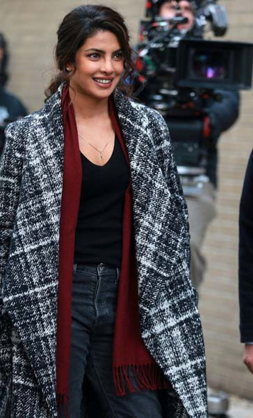 Priyanka Chopra Pictures From Quantico Sets In New York Photos