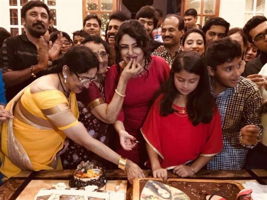 Priyanka Upendra Celebrates Her 40th Birthday Photos