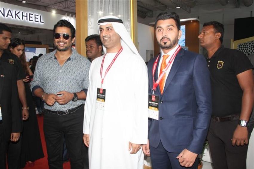 R Madhavan At Dubia Propert Show In Mumbai Photos
