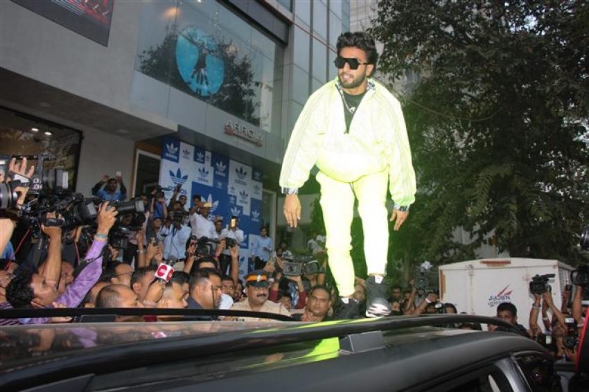 Ranveer Singh Launch Adidas Original's First  Fashion Destination Door Photos