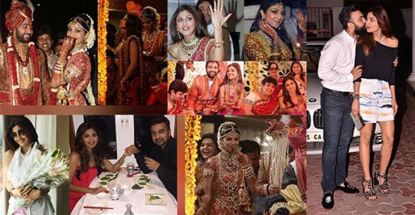 Shilpa Shetty & Rajkundra Wedding Anniversary Special Photos