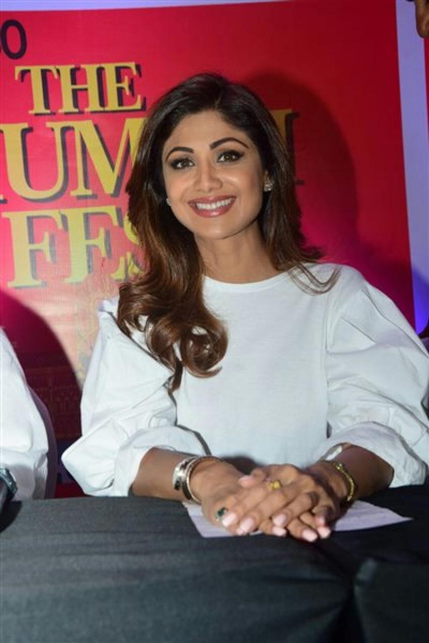 Shilpa Shetty At Mumbai Festival 2017 Photos