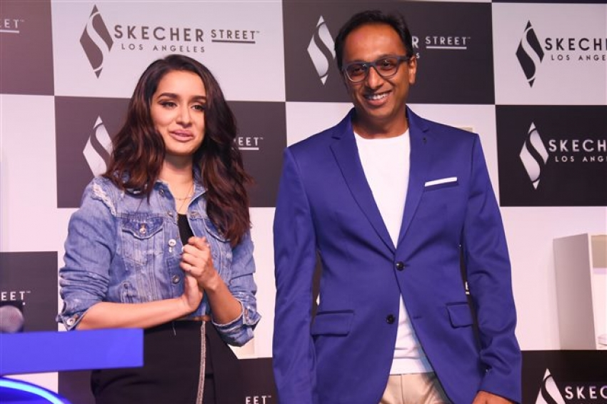 Skechers Launches Their Street Collection With Shraddha Kapoor Photos