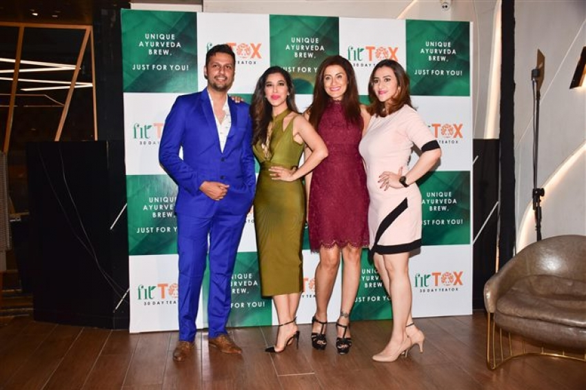 Sophie Choudhary Launch Her Own Tea Brand Fittox Photos