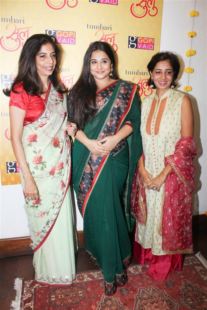 Special Designer Saree Collection By Vidya Balan And Manav Kaul Photos