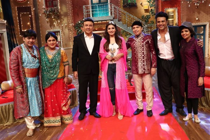 The Drama Company Episode With Anu Malik, Raveena Tandon & Altaf Raja Photos