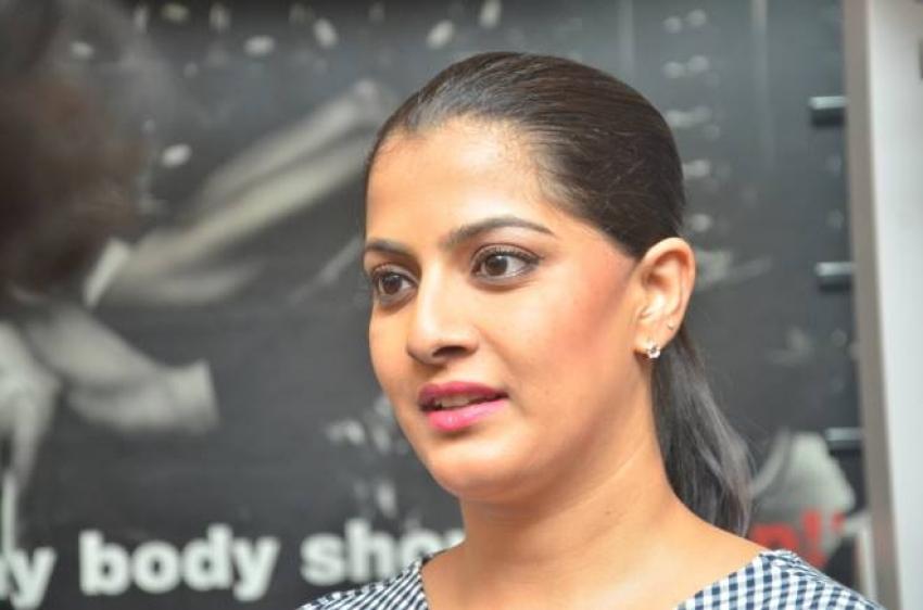 Varalaxmi Sarathkumar launches Genetic Champions Fitness Studio Photos