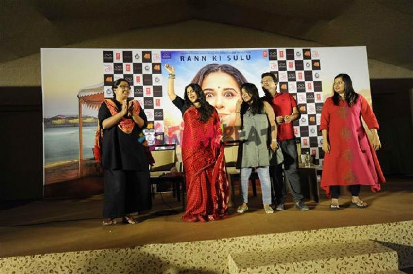 Vidya Balan Promotes Tumhari Sulu In Ahmedabad Photos
