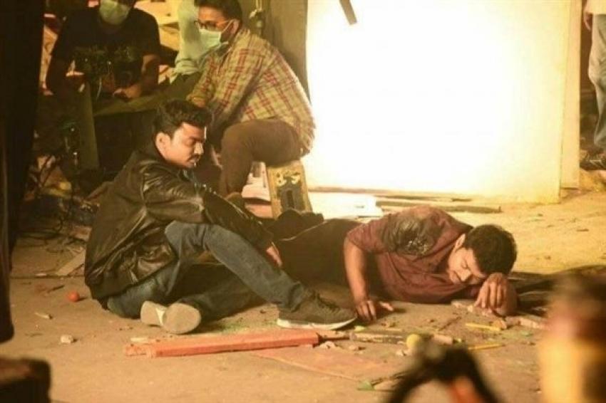 Vijay S Double Body Photos In Mersal Movie Photos Filmibeat