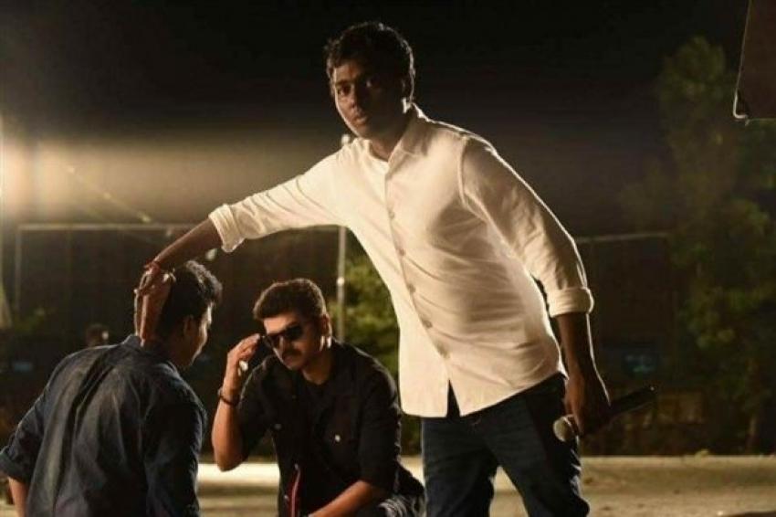 Vijay's Double Body Photos In Mersal Movie Photos