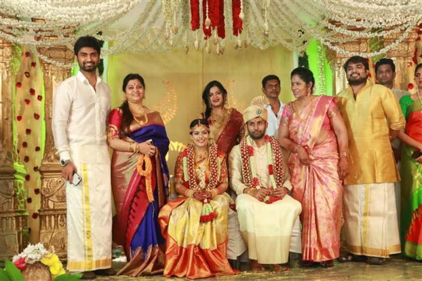 Aadhav & Vinodhnie Marriage Photos