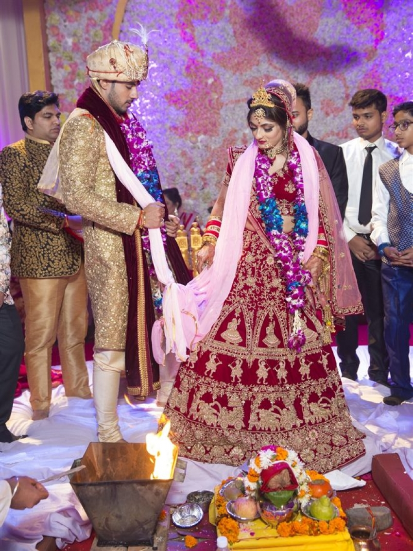 Abhishek Bajaj's Wedding Photos