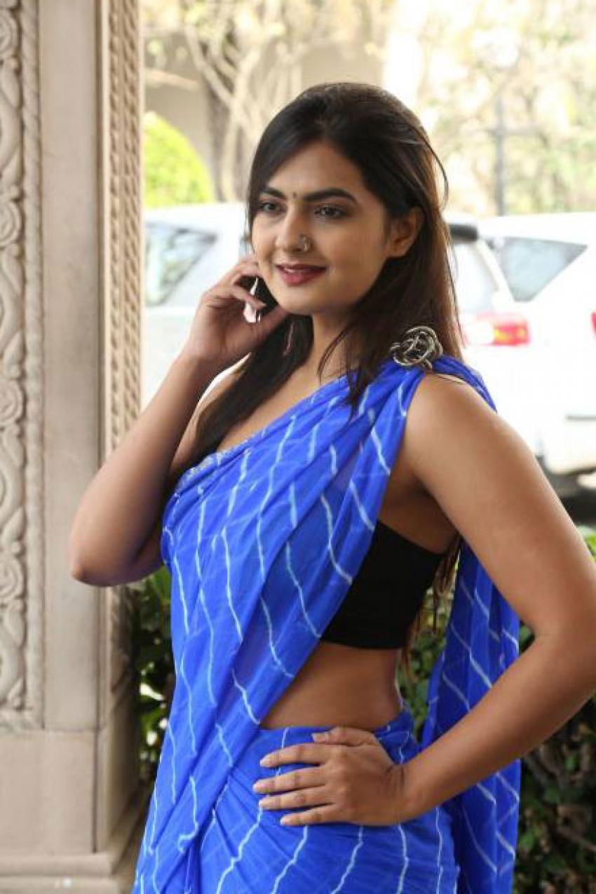 Actress Neha Deshpande Inaugurates Trendz Expo Photos