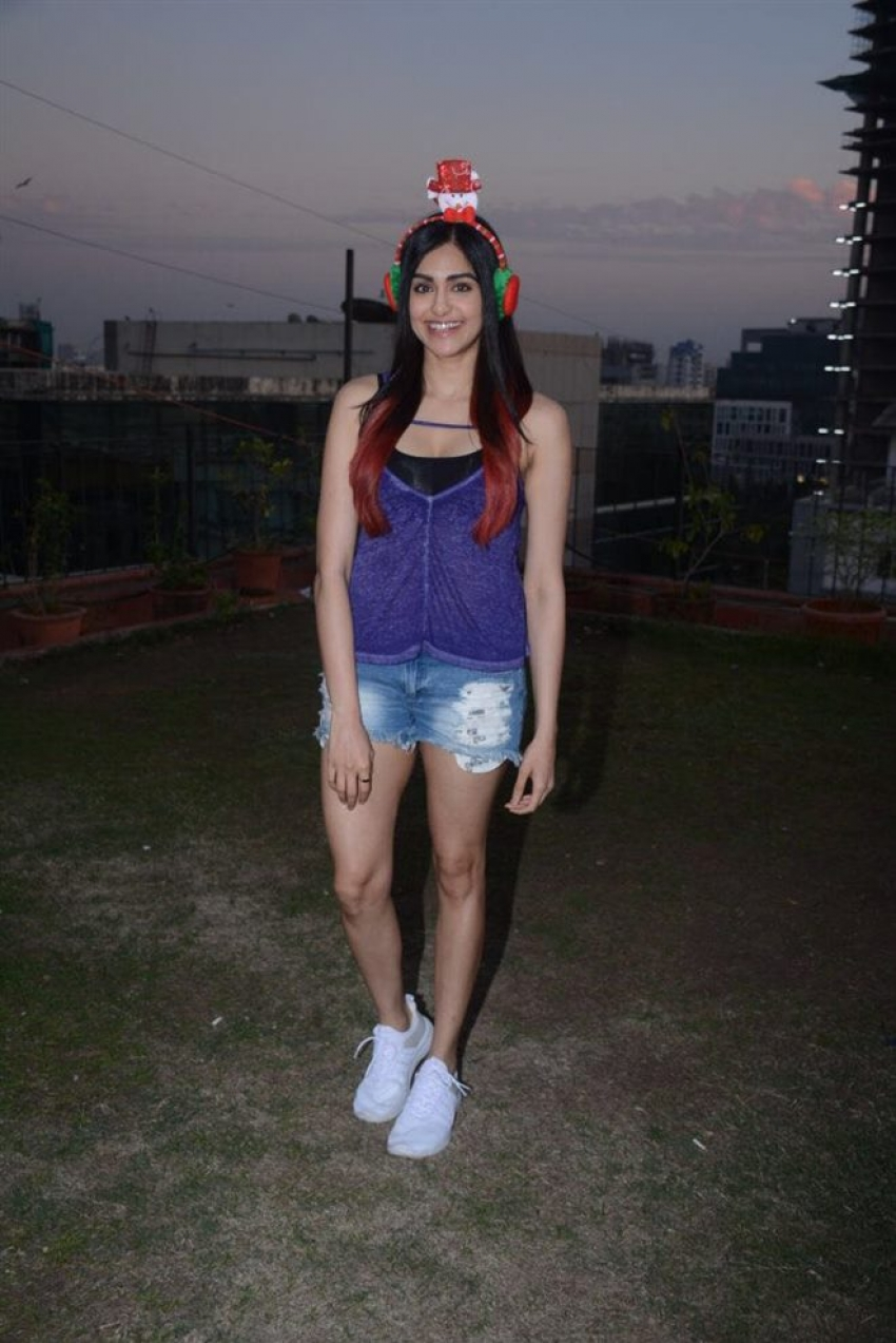 Adah Sharma Pre Christmas 2017 Celebration Photos