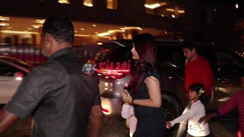 Aishwarya Rai Snapped At BKC With Aradhya Bachchan Photos