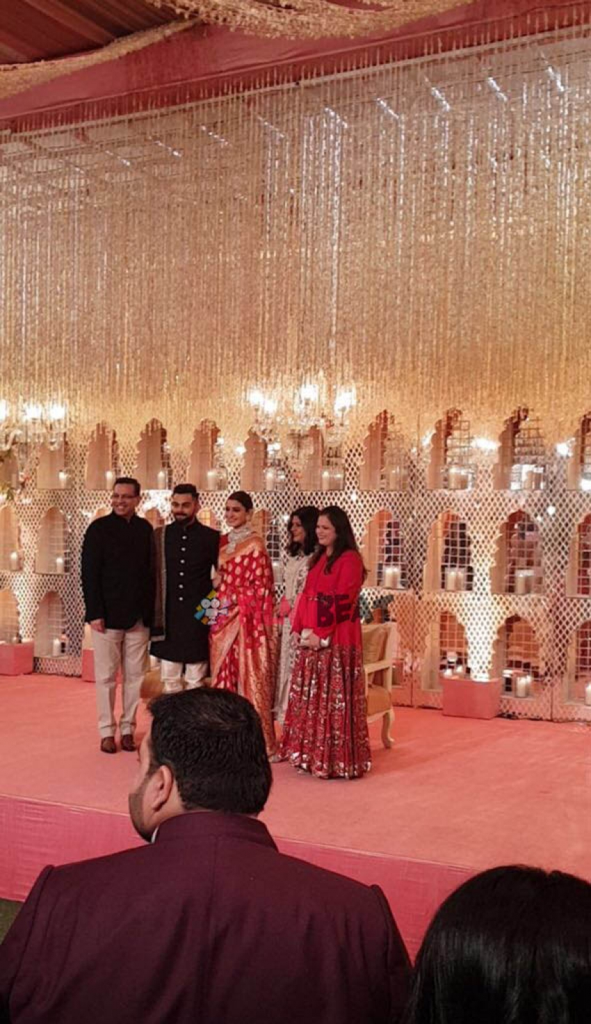 Anushka Sharma & Virat Kohli Wedding Reception In New Delhi Photos