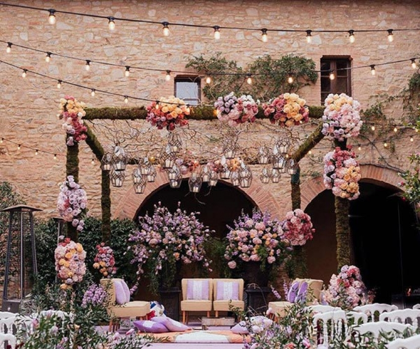 Anuskha Sharma & Virat Kohli New Wedding Pictures Photos