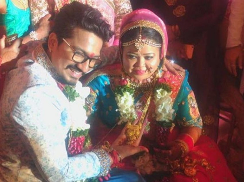 Bharti Singh Ties The Knot With Haarsh Limbachiyaa Photos