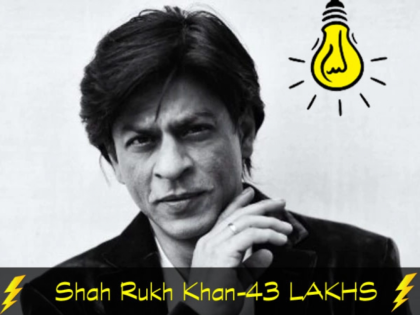 Bollywood Top Stars Electricity Bill Photos