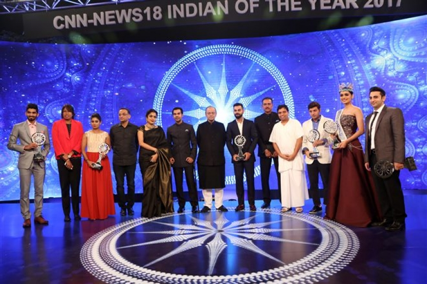 CNN IBN Indian Of The Year Awards 2017 Photos